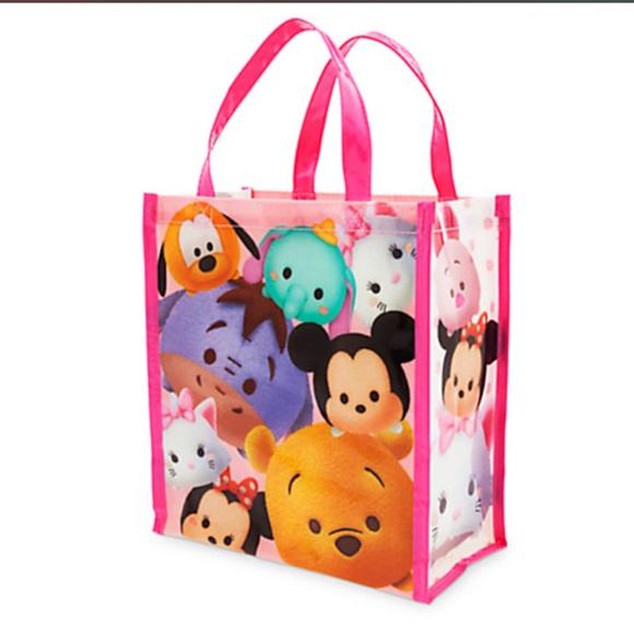 Disney Tsum Tsum plastic tote bag. NWT f5d68b715
